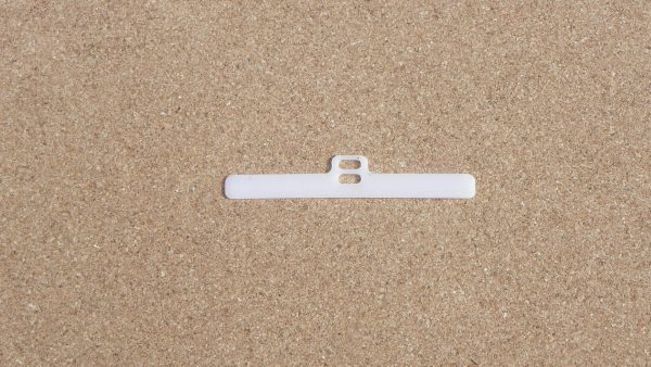 Double slotted vertical blind top hanger spare parts