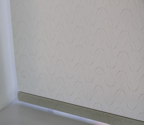 Louvolite Aura Cream Roller Blind With Matching Pelmet-627