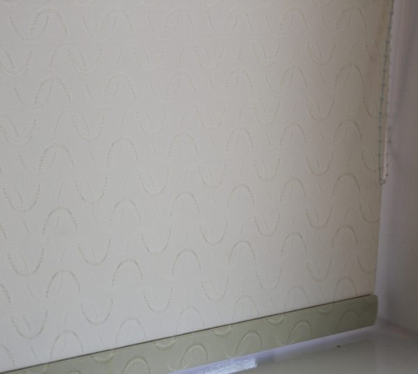 Louvolite Aura Cream Roller Blind With Matching Pelmet-628