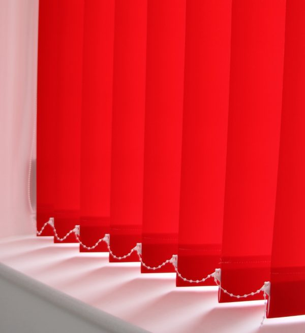89mm Burmuda Plain Red Replacement Slats-0