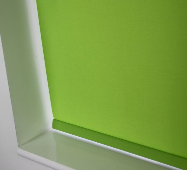 Louvolite Carnival Lime Roller Blind With Matching Pelmet-589
