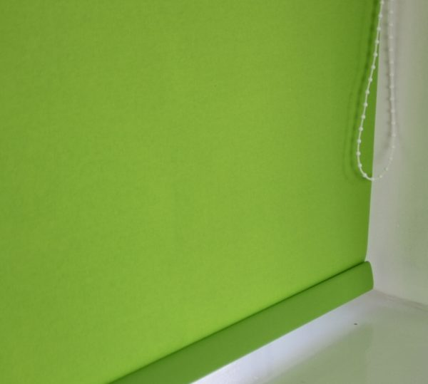 Louvolite Carnival Lime Roller Blind With Matching Pelmet-587
