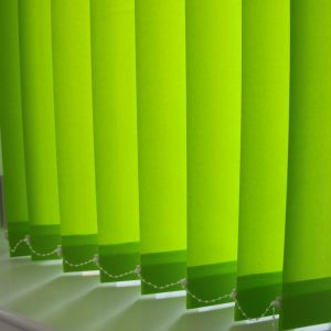 89mm Louvolite Carnival Lime Vertical Blind -0