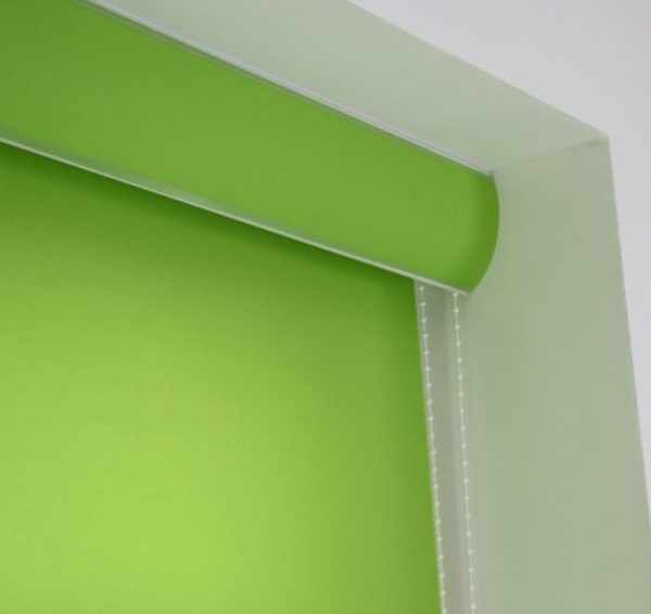 Louvolite Carnival Lime Roller Blind With Matching Pelmet-588