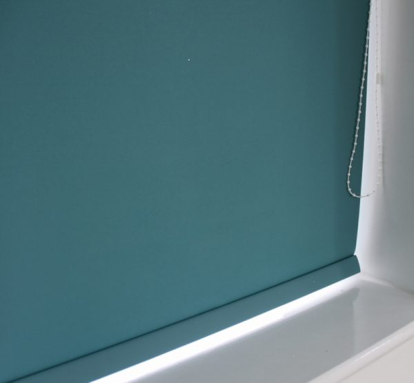 Louvolite Carnival Teal Roller Blind With Matching Pelmet-702