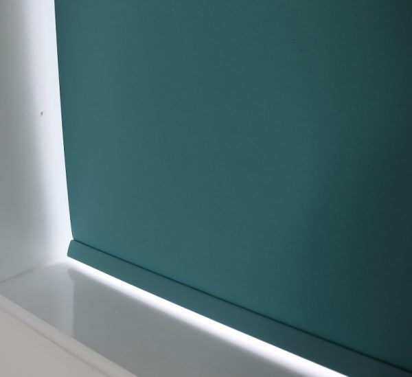 Louvolite Carnival Teal Roller Blind With Matching Pelmet-699