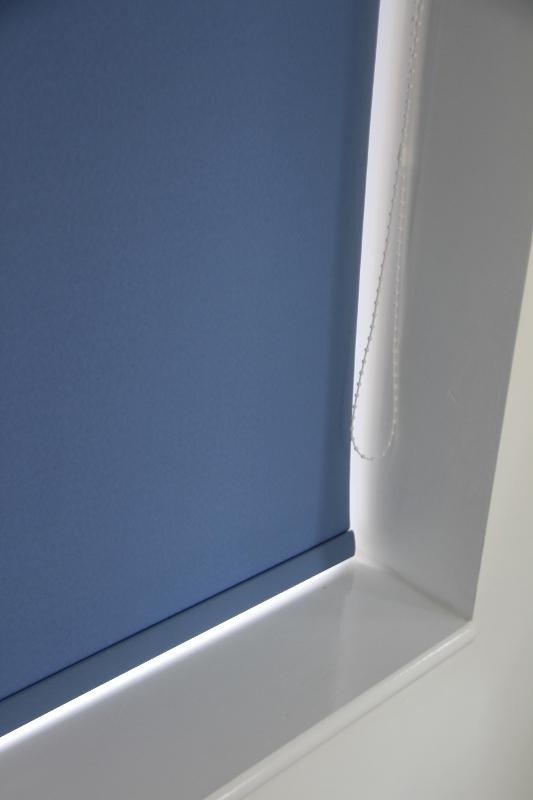 palette Denim Blue Roller Blind -752