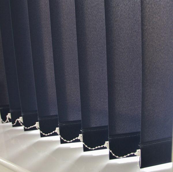 89mm Eclipse Plain Navy Blue Replacement Slats-0