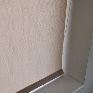Eclipse Vapour Putty Roller Blind With Matching Pelmet-0