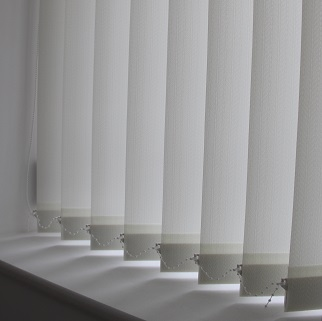 89mm Decorshade Herringbone Cream Vertical Blind -0