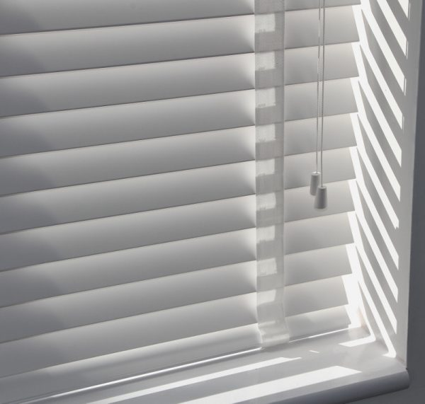 Real wood Thick venetians With Matching Tapes