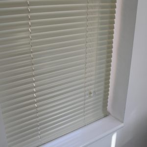 25mm Cream Aluminium venetian Blind-0
