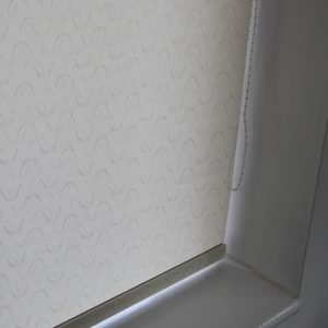 Louvolite Aura Cream Roller Blind With Matching Pelmet-0