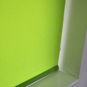 Louvolite Carnival Lime Roller Blind With Matching Pelmet-0
