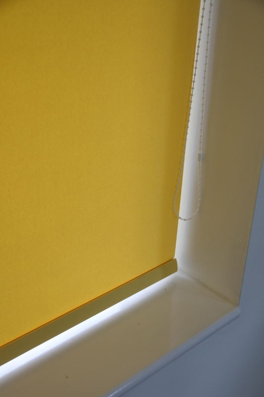 Louvolite Carnival Canary Roller Blind With Matching Pelmet-760