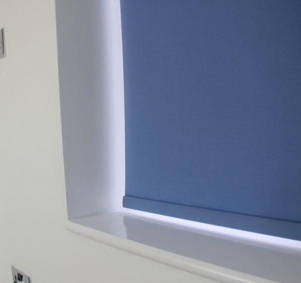 palette Denim Blue Roller Blind -725