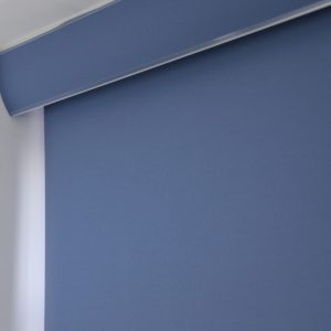 palette Denim Blue Roller Blind -0