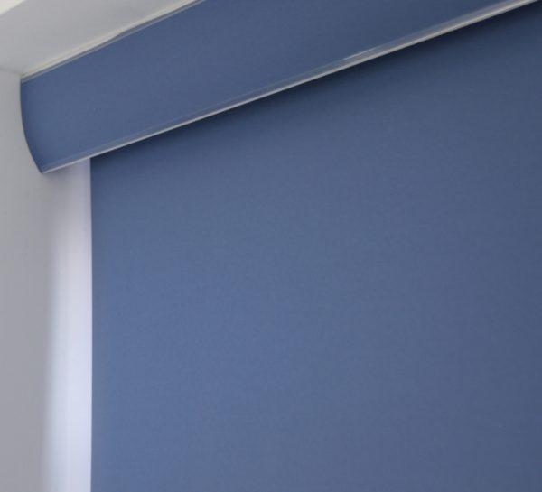 palette Denim Blue Roller Blind -0