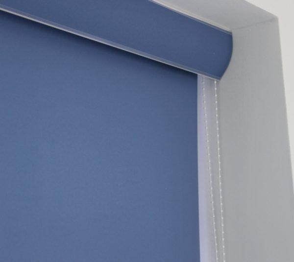 palette Denim Blue Roller Blind -728
