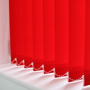 89mm Eclipse Pallette Monarch (red) Vertical Blind -0