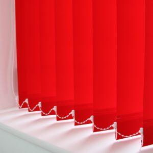 89mm Eclipse Pallette Monarch (red) Vertical Blind -0