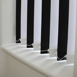 89mm Rustica Black and Rustica White Alternate Replacement Slats-433