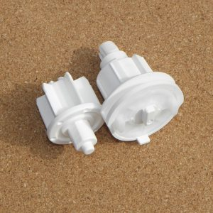 Set Of Roller Blind Top Bar End Caps-0