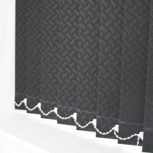 89mm Swirl Black Replacement Slats-0