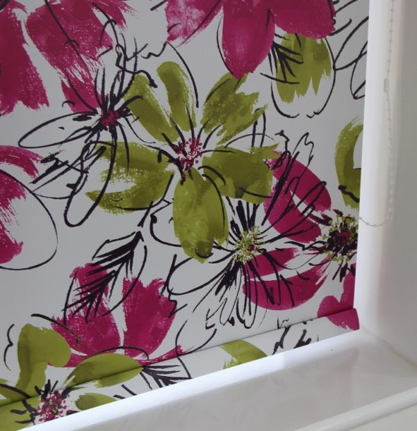 Blackout Pvc Patterned Roller blind essex