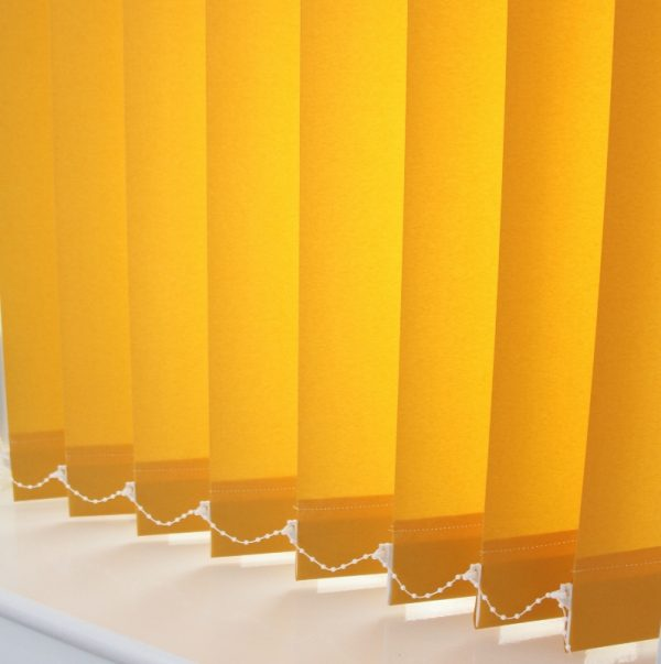 Carnival Sunlight yellow Vertical Blind-0