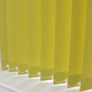 Pallete Yellow Hyde vertical blinds