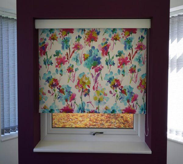 patterned blinds