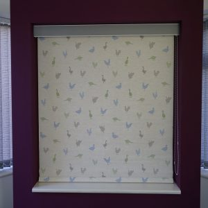 Feathered Friends Bluebell Roller Blind -0