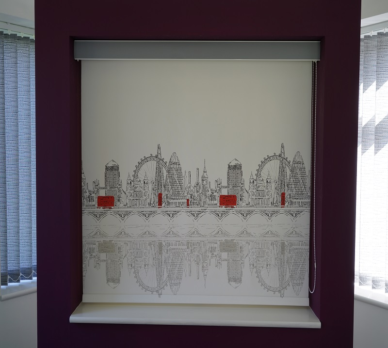 Skyline London Roller Blind Manchester Blind
