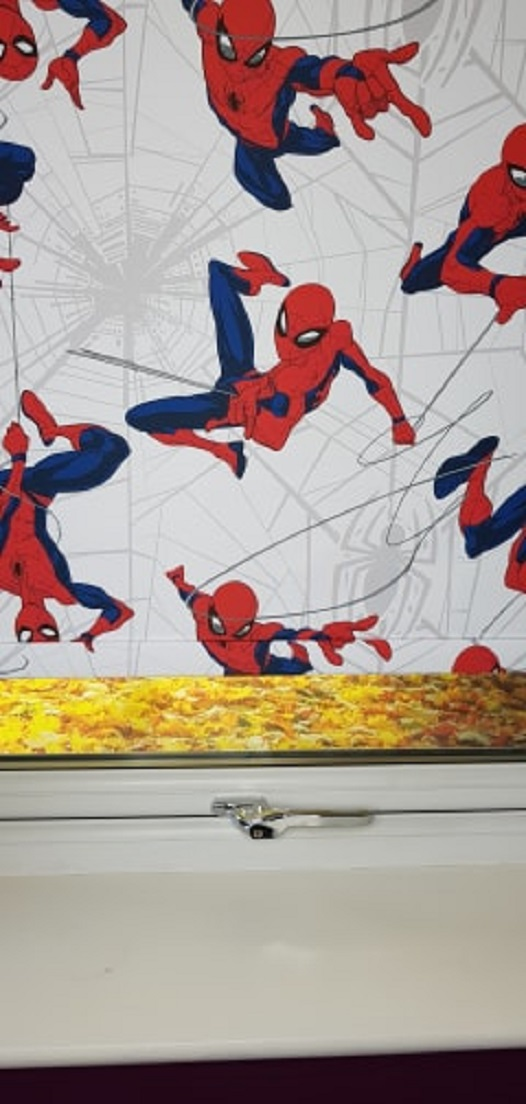 spider man roller blinds