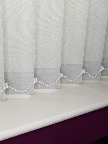 grey blinds