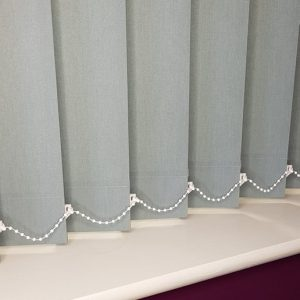 grey vertical blind