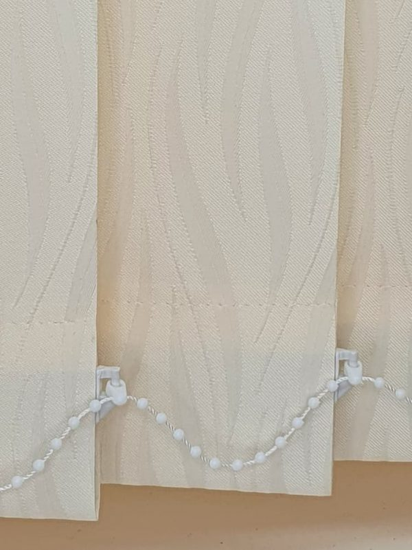 ivory vertical blinds
